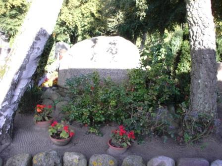 Richard Wossidlo fand seine letzte Ruhest�tte auf dem Alten Friedhof in Ribnitz