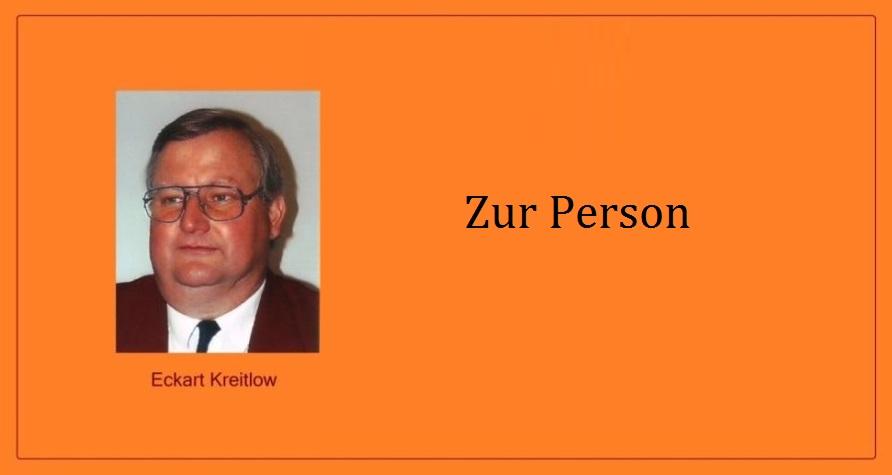 Eckart Kreitlow - Zur Person